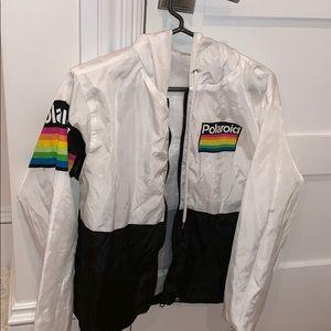 Polaroid windbreaker jacket